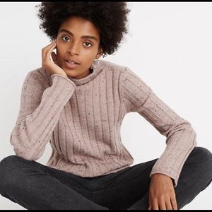 Madewell Donegal Evercrest Turtleneck Sweater M